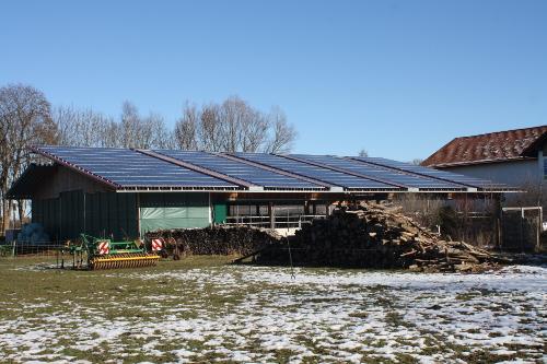 Photovoltaik-Anlage Biohof Lenz