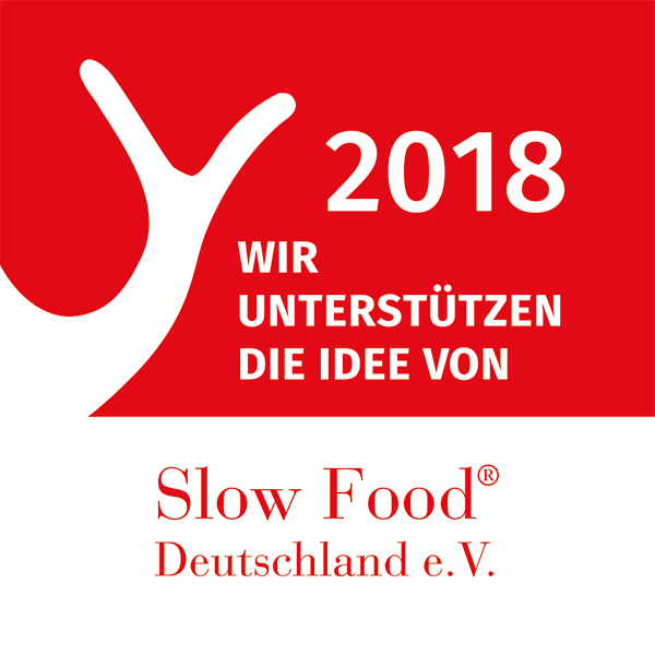 Slow Food Förderer Logo